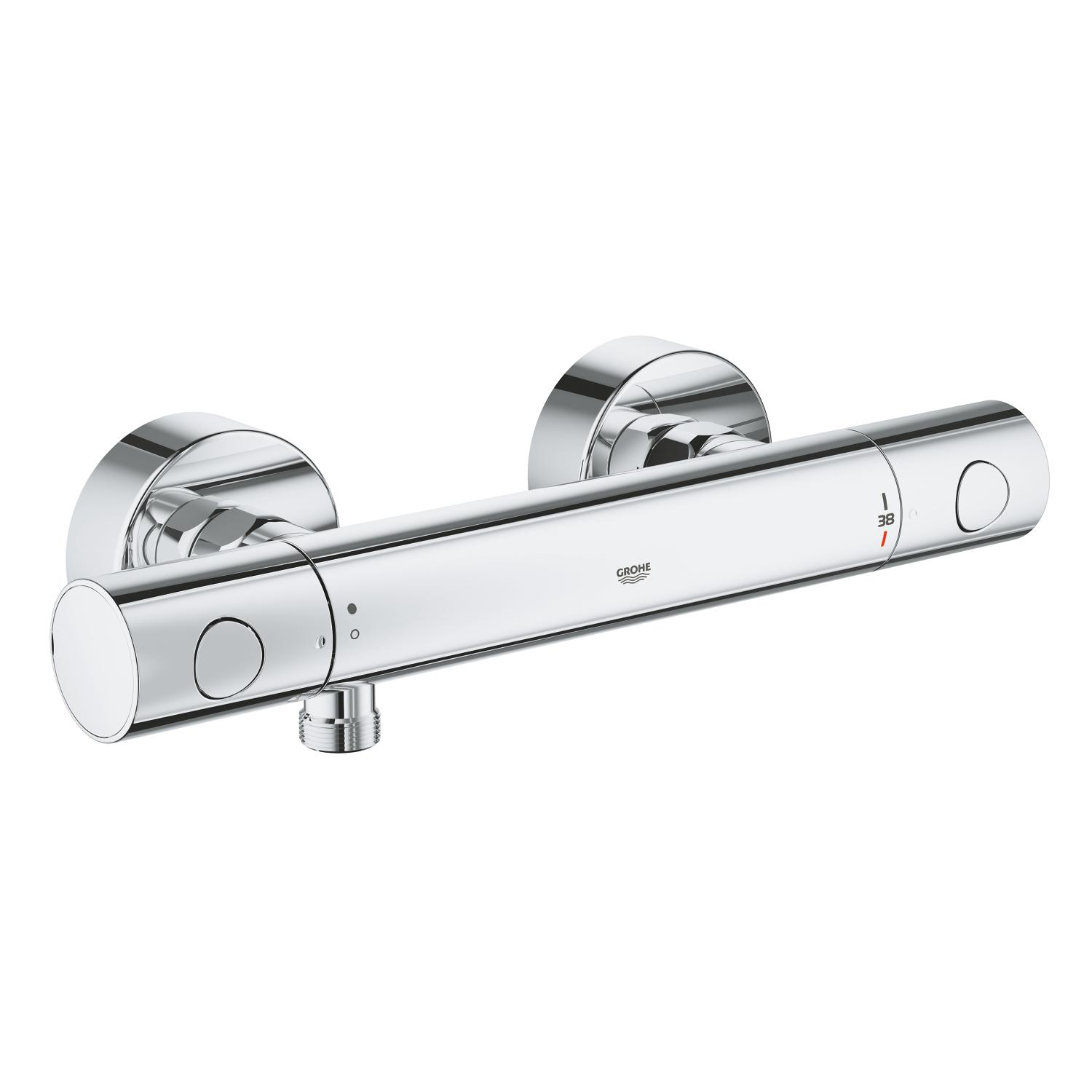 Douchethermostaat Grohtherm 800 Cosmo. 150mm m. s-kopp. Grohe