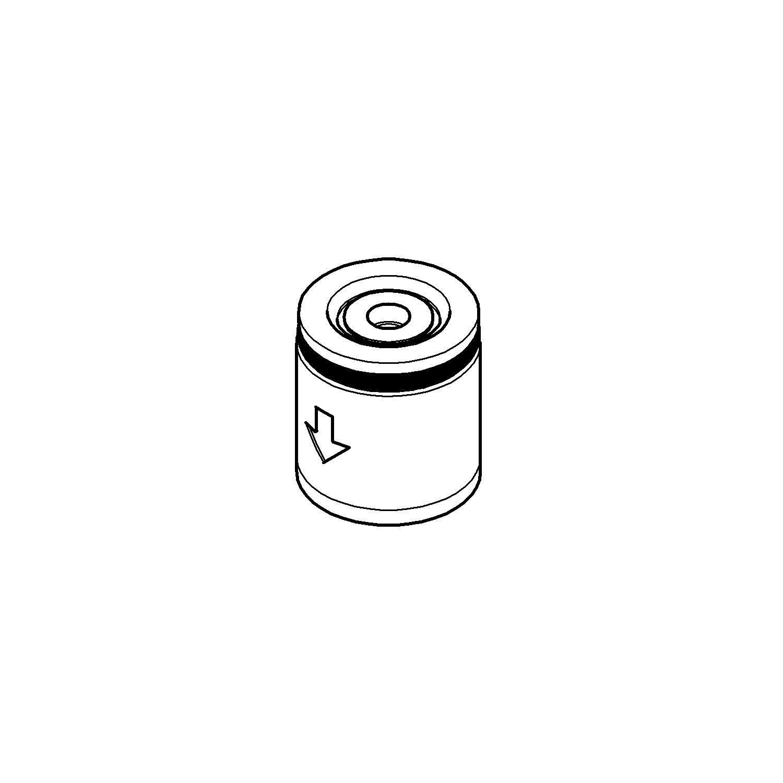 Terugslagklep chroom tbv thermostaten Grohe