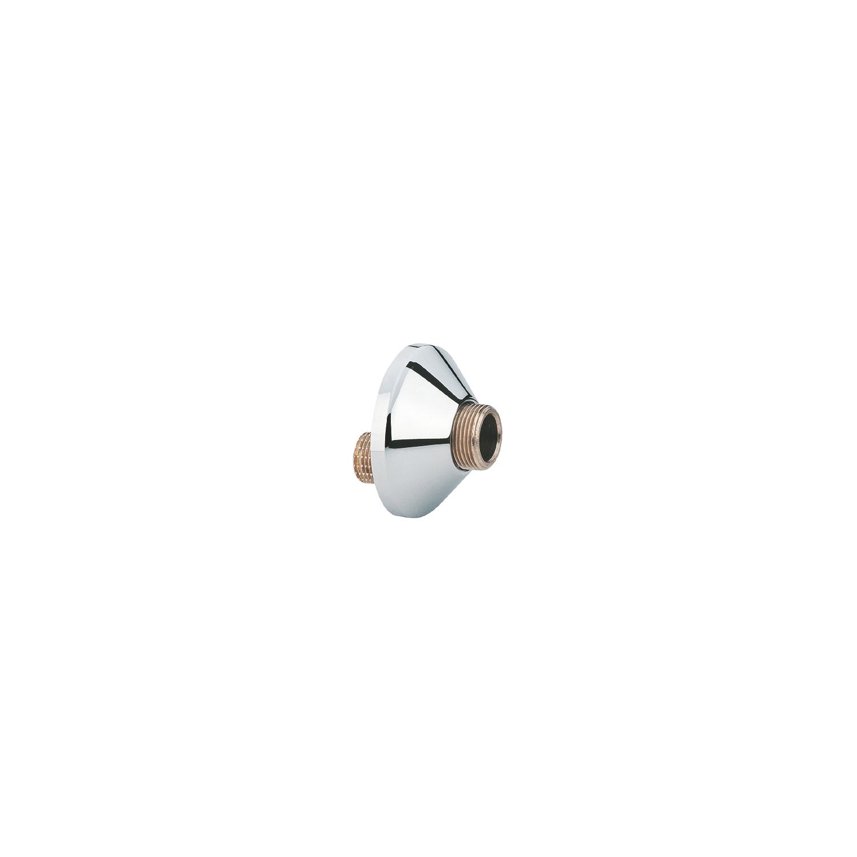 Set a 2 st. S-koppeling m.rozet 1/2x3/4 bu. chroom Grohe