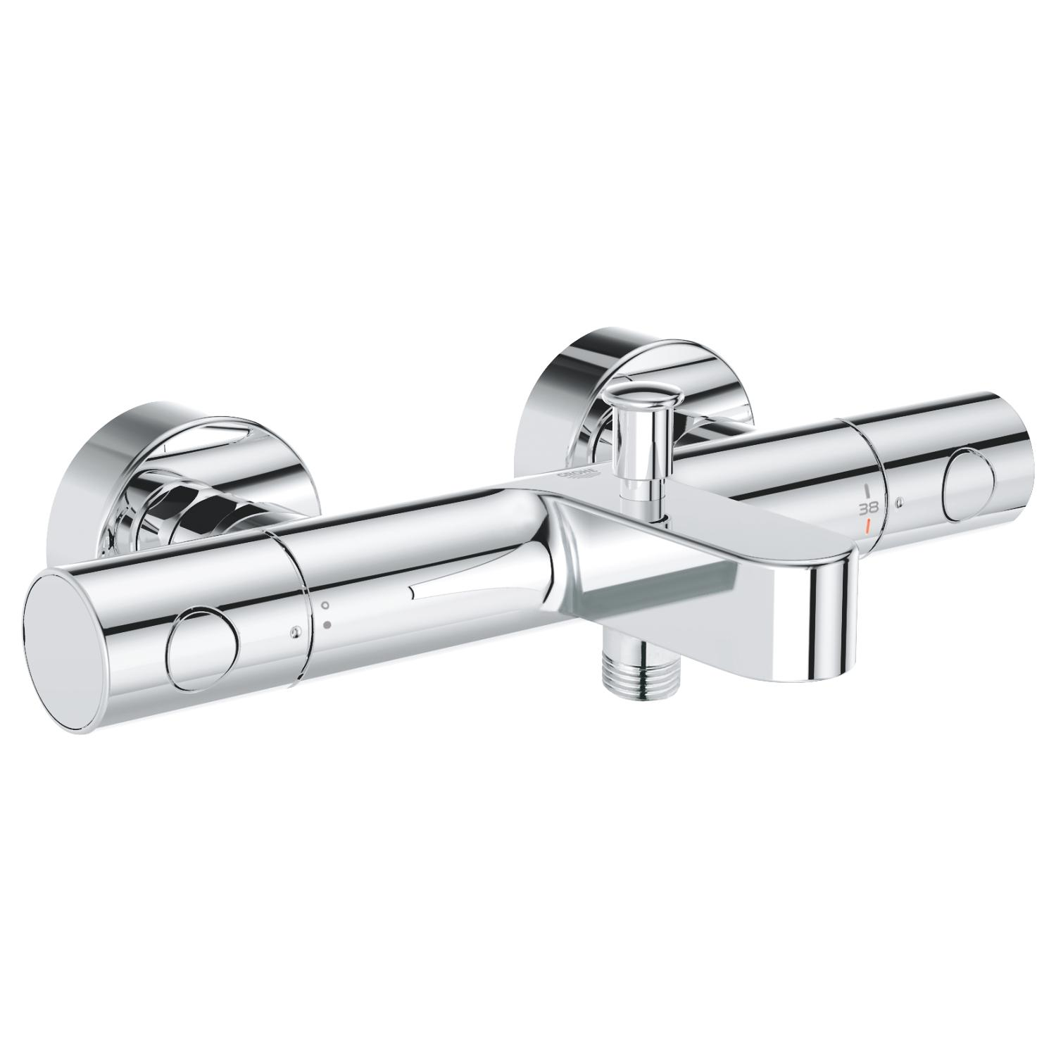 Grohtherm 1000 Cosmo.M 2-gr. badthermostaat chroom HoH150mm Grohe