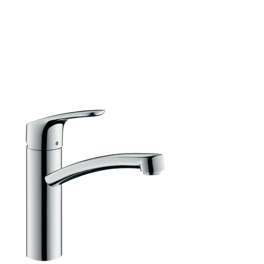Focus keukenkraan chr. 1-greeps drbr.uitl. 200mm hansgrohe