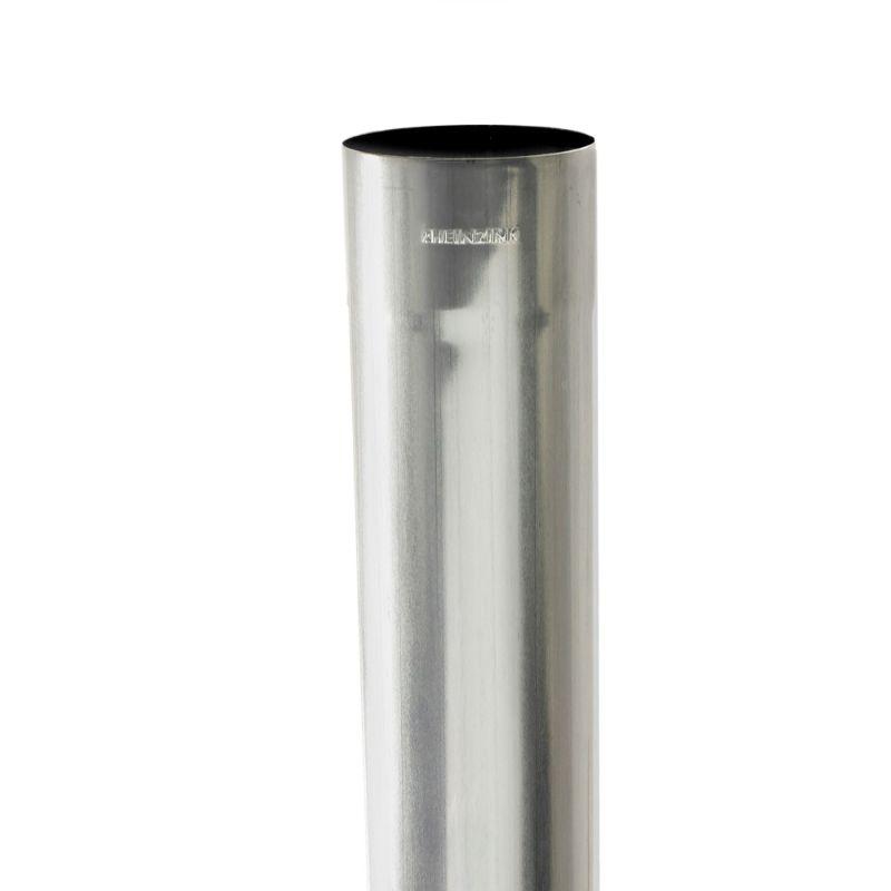 Lengte a 2m. zinken HWA buis 80x0.65mm gelast Rheinzink